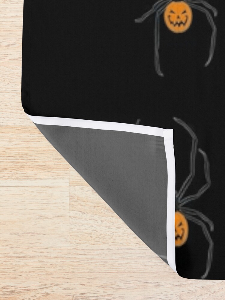 Alternate view of Jack-o'-Spider Shower Curtain