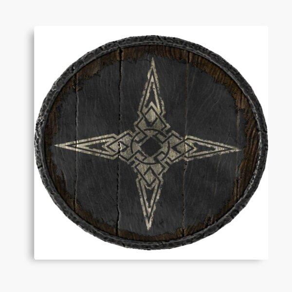 Dawnstar and Pale Guards Logo (Guard hold shield) Canvas Print