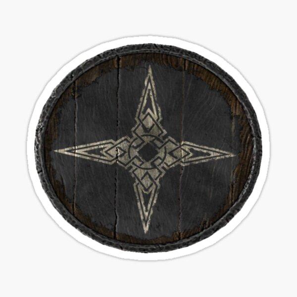 Dawnstar and Pale Guards Logo (Guard hold shield) Sticker