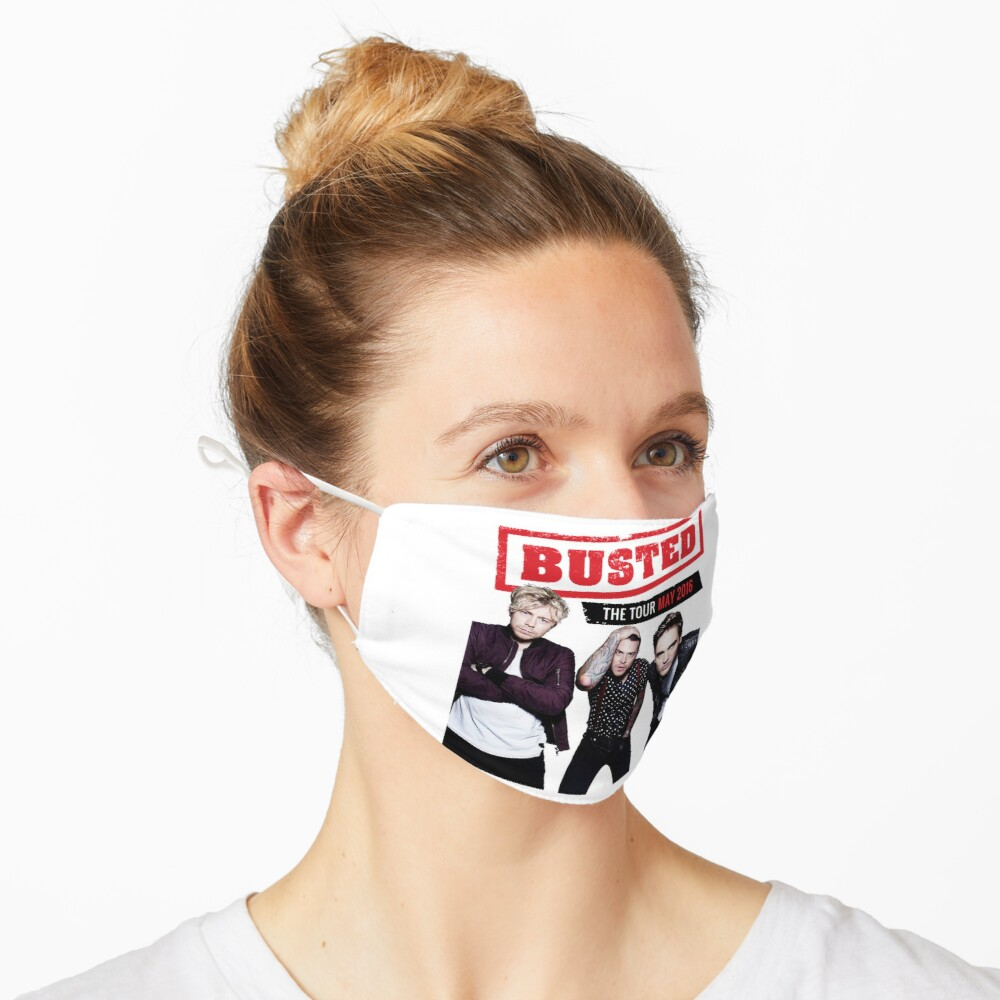 Busted Tour 2016 Mask