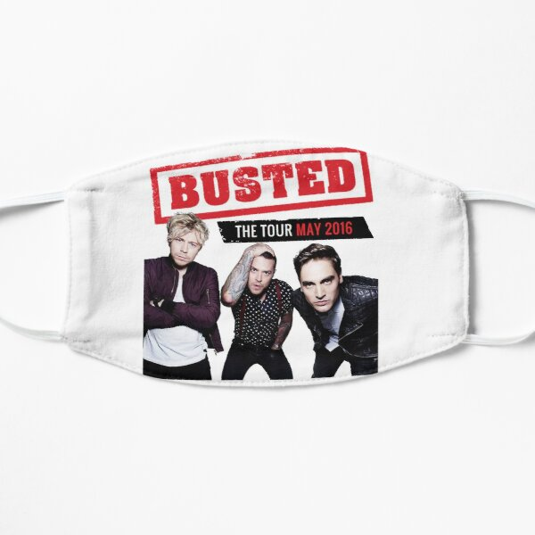 Busted Tour 2016 Flat Mask
