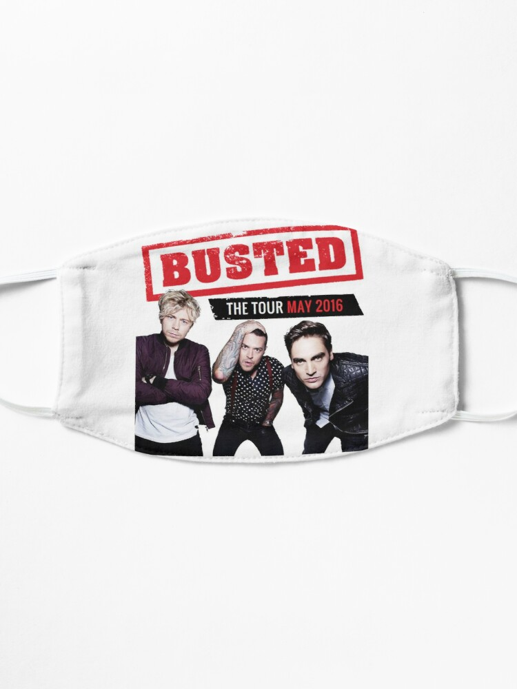 Alternate view of Busted Tour 2016 Mask