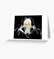 Lost in Space (black) Greeting Card