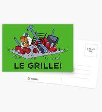 Le Grille! Postcards