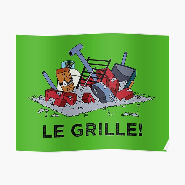 Le Grille! Poster