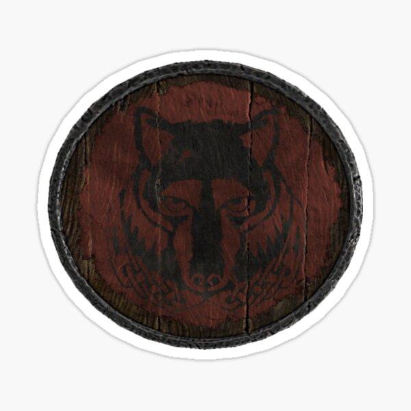 Solitude and Haafingar Logo (Hold guard shield) Sticker