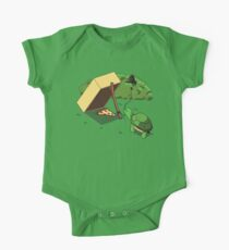 Turtle Trap Short Sleeve Baby One-Piece