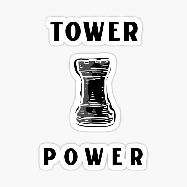 Tower Power Sticker