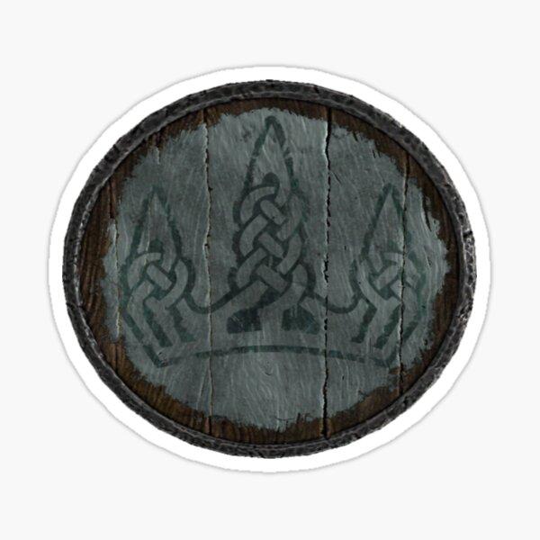 Winterhold Logo (Hold guard shield logo) Sticker