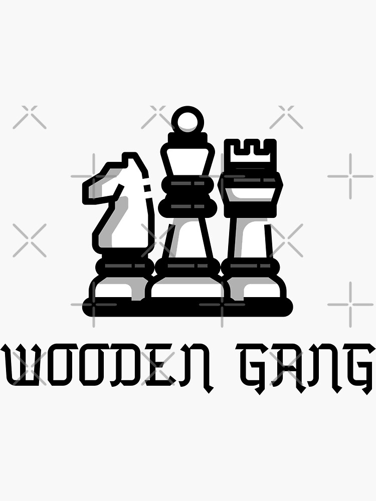 Wooden Gang by up4tee