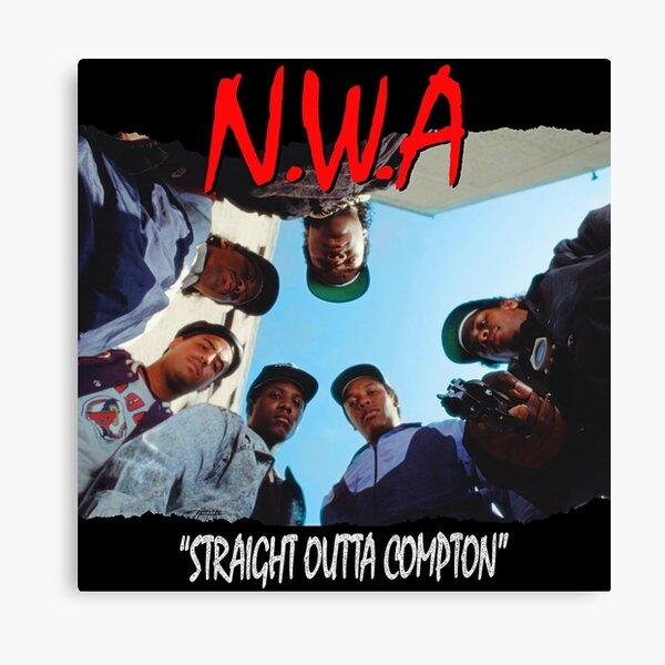 Straight Outta Compton (HD) Canvas Print