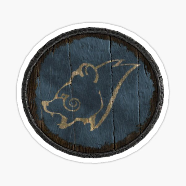 Windhelm and Eastmarch Logo (Hold guards shield) Sticker