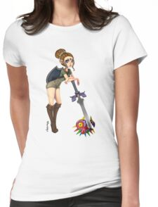 Kickass Zelda Womens Fitted T-Shirt