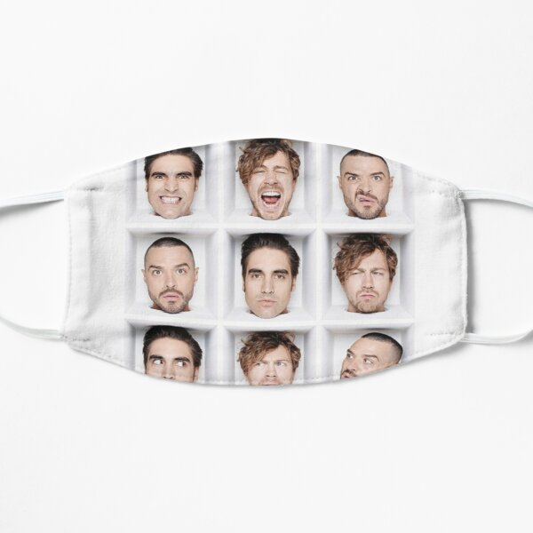 Busted tour 2019 Flat Mask