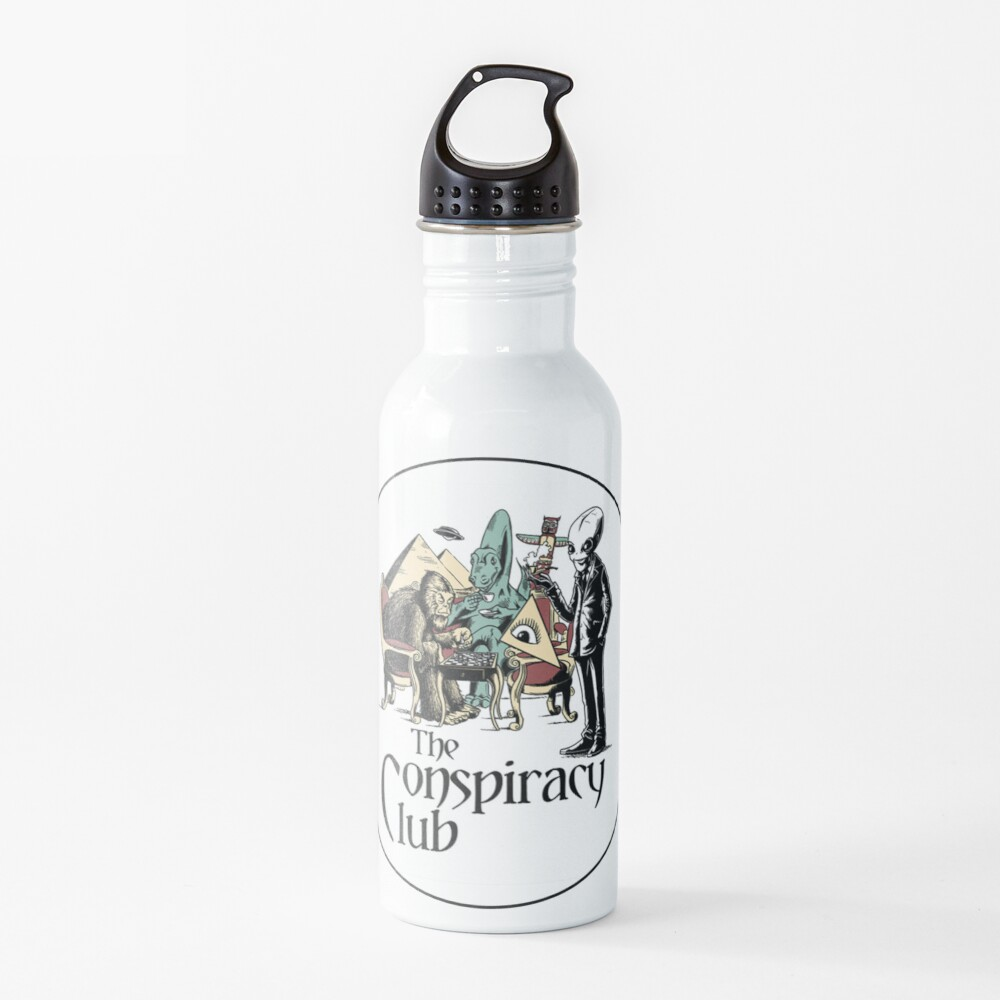 The Conspiracy Club Water Bottle