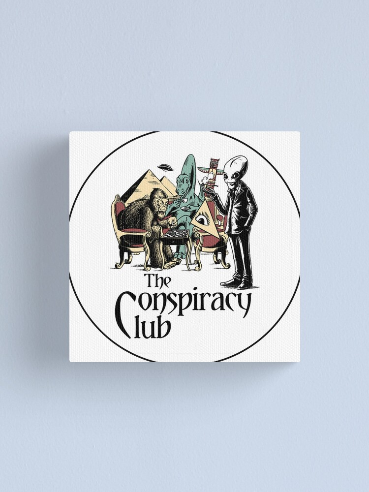 Alternate view of The Conspiracy Club Canvas Print