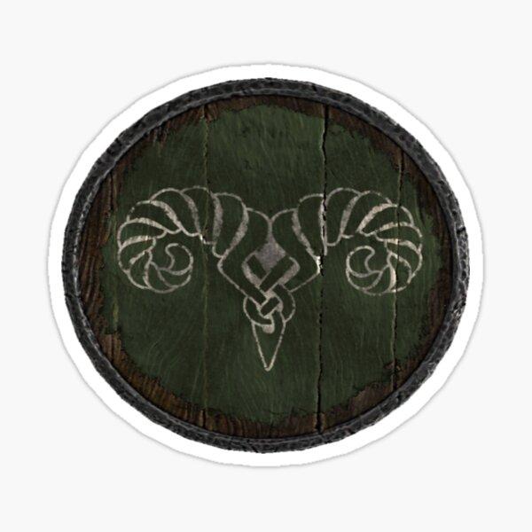 Markarth and Reach Logo (Hold guard shield) Sticker