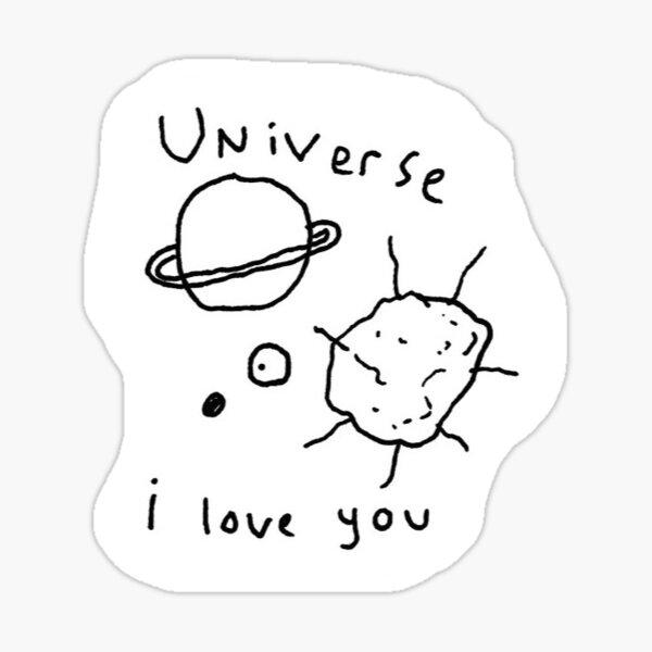 Matthew Gray Gubler Art Sticker Sticker