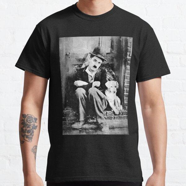 Chaplin - La vie de chien - D17 T-shirt classique