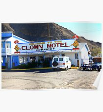 Tonopah, Nevada - Clown Motel Poster