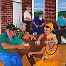 Bruthen Beauties Beautiful Blokes at the Pub by Marg Pearson