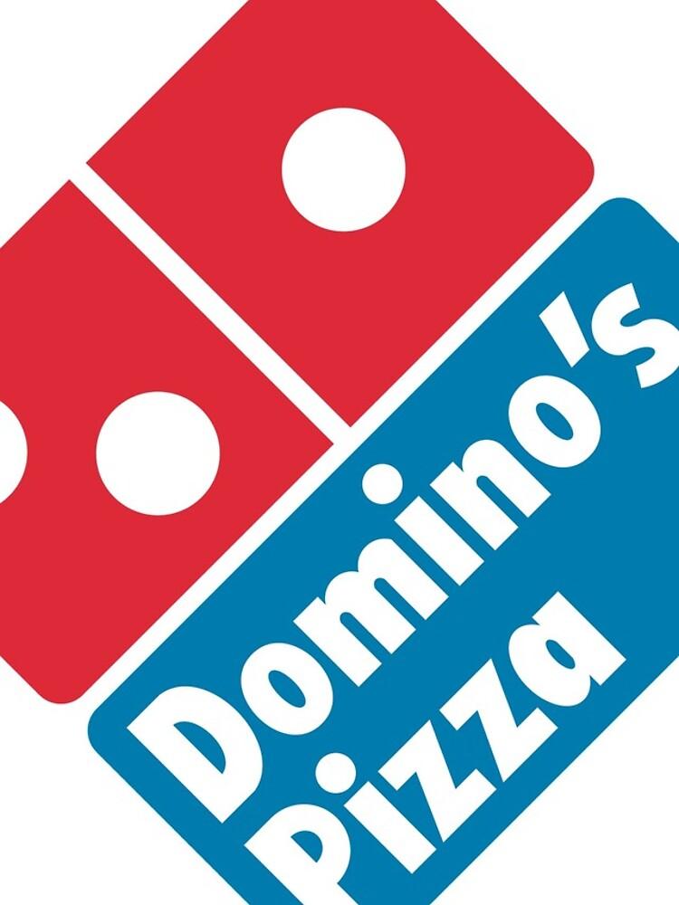 Dominos Pizza Logo by BGrygotis