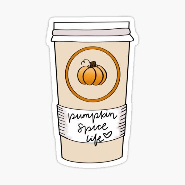 Pumpkin Spice Life Sticker