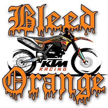 Bleed Orange by ourshirtsrock