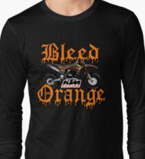 Bleed Orange Long Sleeve T-Shirt