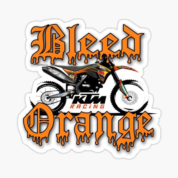 Orange saignée Sticker