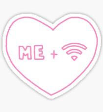 me + wifi Sticker
