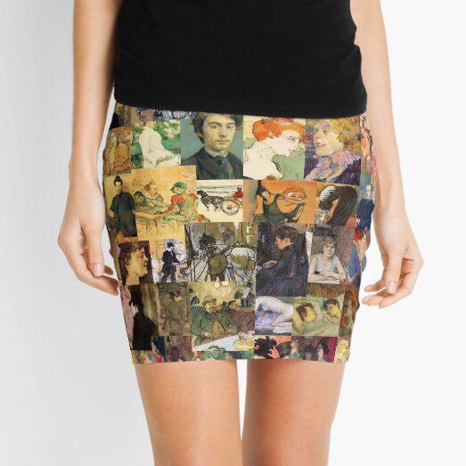 Henri de Toulouse-Lautrec Mini Skirt