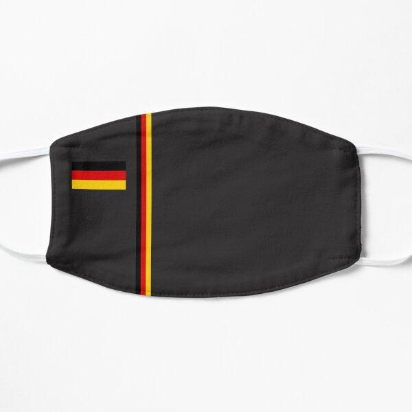 Mask With Germany Flag Mouthguard Flat Mask