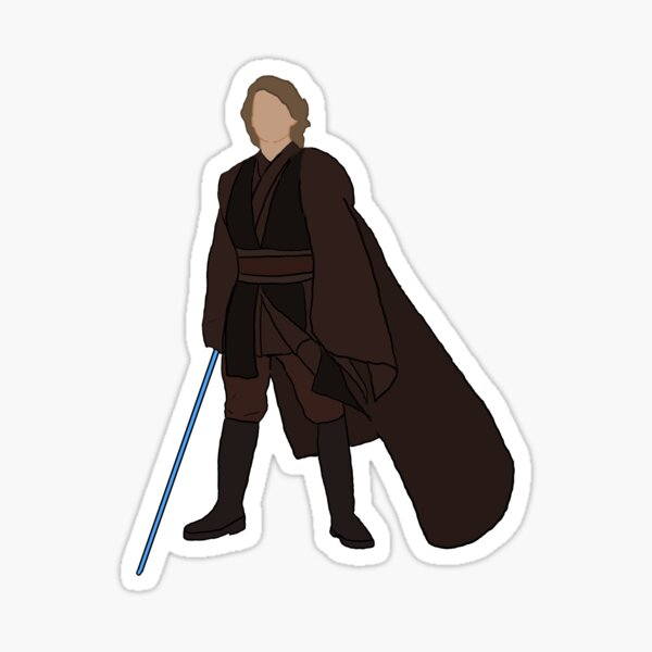 Anakin Sticker Sticker