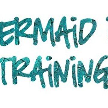 Mermaid in Training de laneboston