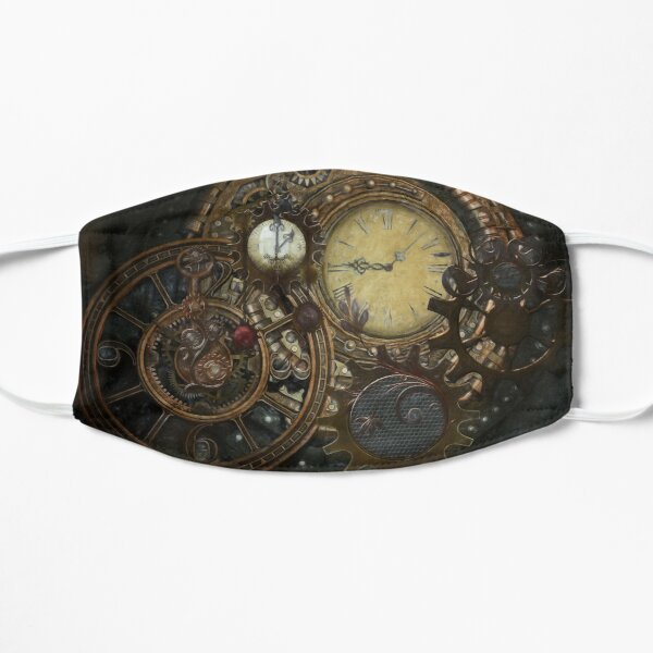 Relojes Steampunk Mascarilla plana