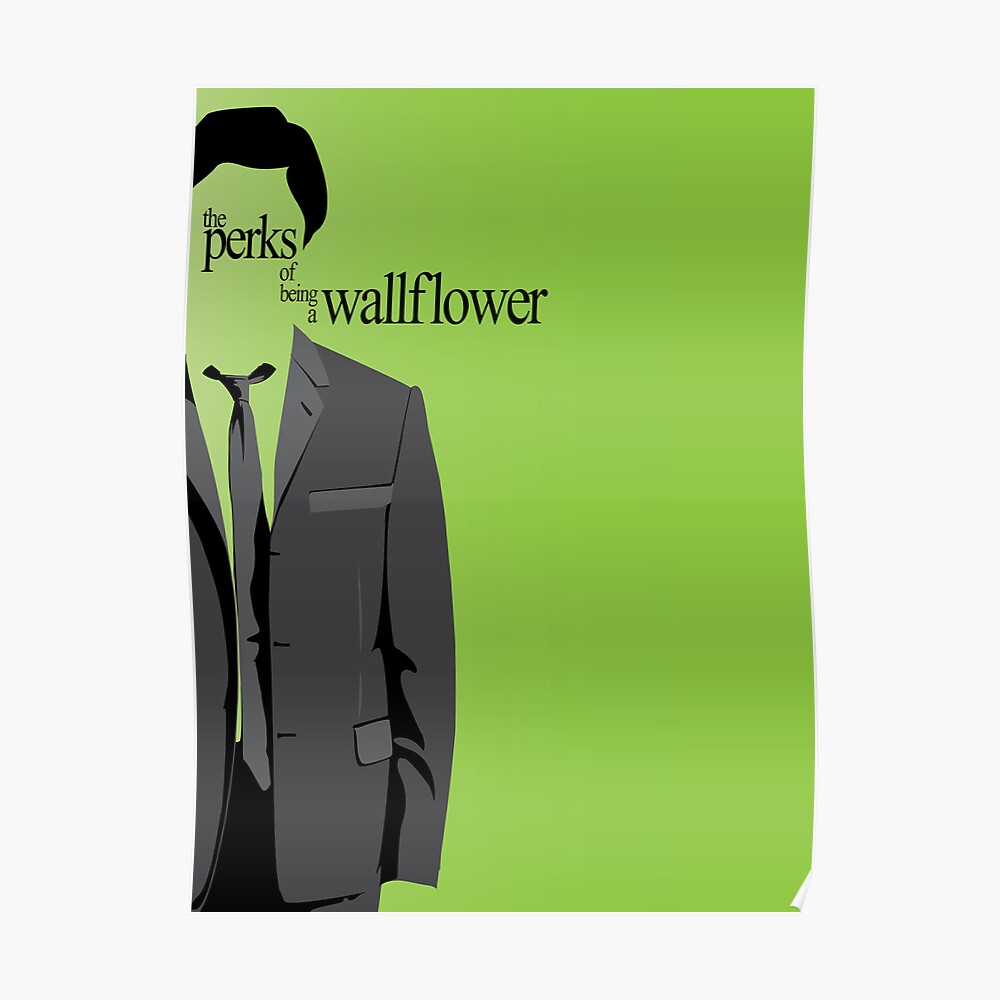 Minimalist The Perks Of Being A Wallpaper Poster Poster By