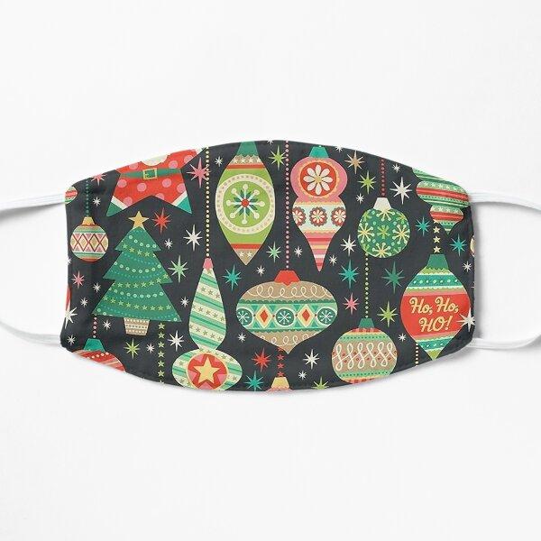 christmas vibes Flat Mask