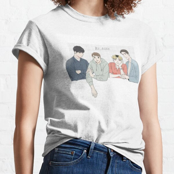 Foto de grupo BJ Alex Camiseta clásica