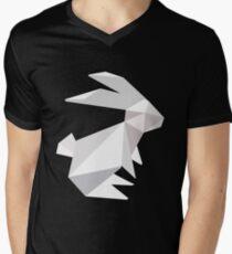 origami bunny  Men's V-Neck T-Shirt