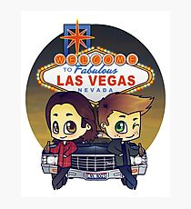 Winchesters in Vegas Photographic Print