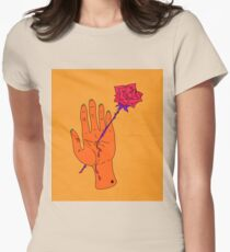 Wounded Hand / Creep  Womens Fitted T-Shirt