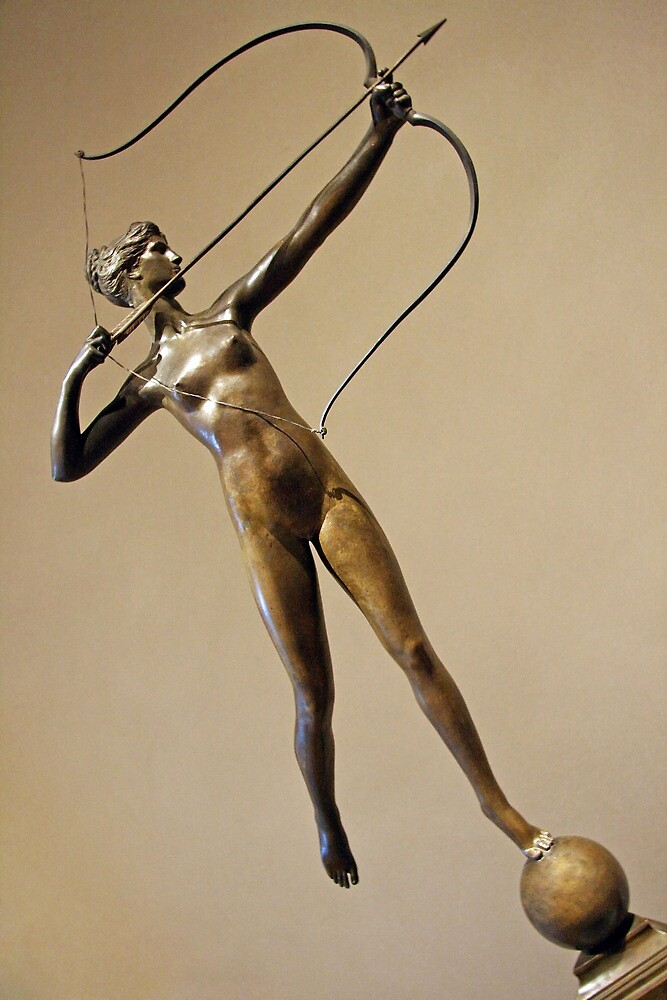 Saint-Gaudens' Diana Of The Tower by Cora Wandel