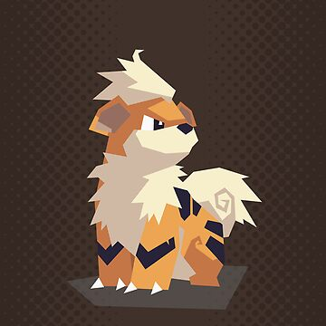 Growlithe by Avertis