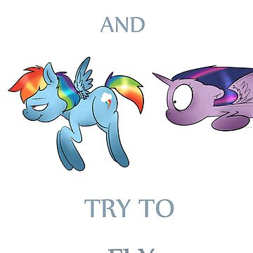 Keep calm and try to fly by falloutmuse696