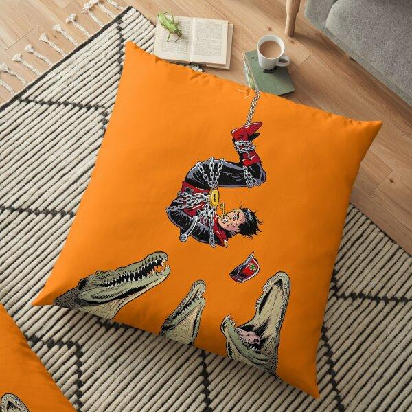 Captain scarlet Floor Pillow
