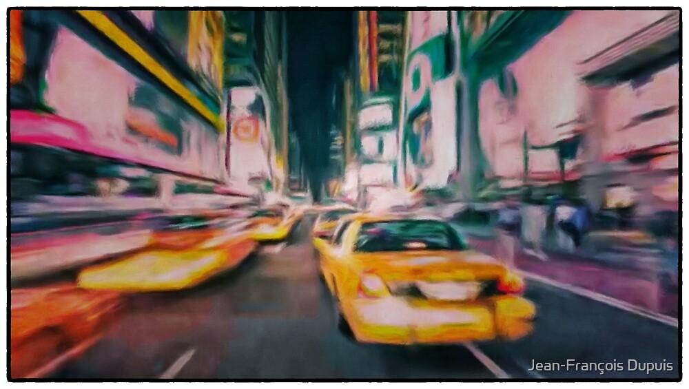 Taxi city by Jean-François Dupuis