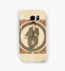 Art Nouveau Sherlock, BBC Sherlock Samsung Galaxy Case/Skin