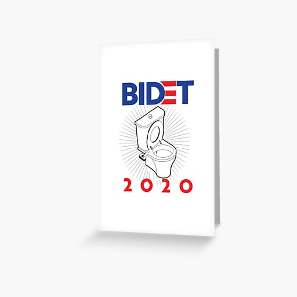 Bidet Greeting Cards Redbubble