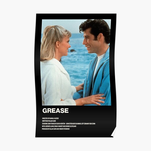 Grease Póster